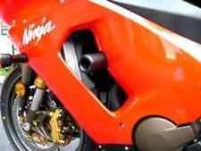 Shogun BLACK Frame Sliders for Kawasaki 2005-06 Ninja ZX-6R ZX-6RR 750-4409