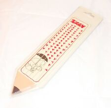 ZIGGY by Tom Wilson 70s Mondadori italy pencil set + eraser - set matite e gomma