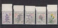 TIMBRE STAMP 5 TCHECOSLOVAQUIE Y&T#2328-32 FLEUR FLOWER NEUF**/MNH-MINT 1979~C66