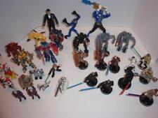 Vintage Lot of 30 Loose Star Wars/Transformers/Other Action Figures