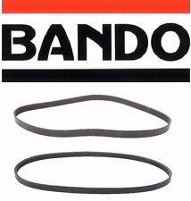 Bando OEM 2-Drive Belt Kit AC-PWR-ALT V6; 3.5L; VQ35DE Eng. - 4PK945 - 6PK1175