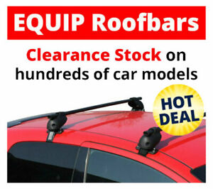 Roof Rack Bars for Daihatsu Terios 11 2006 Onwards with/without rails CLA022