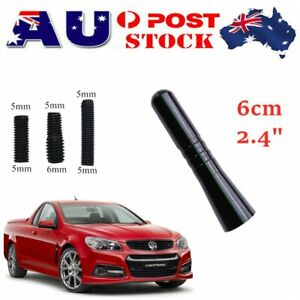 "6cm 2.4"" Car Antenna Screws Aerial For Holden Commodore VE SS SV6 SSV Sportwagon"
