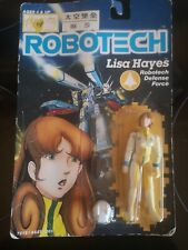 1985 Robotech Lisa Hayes Action Figure Sealed On Card