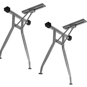 2 x Tischgestell klappbar Tischbeine Tischbein Tischfuß Camping Wohnwagen
