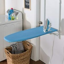 Over The Door Ironing Board Wall Mount Design Space Saving Rust-Resistant Blue