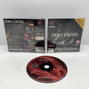 Dino Crisis Sony Playstation 1 PS1 Dinosaur Survival Horror No Manual UK PAL