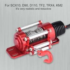 1set Metal Steel Wired Winch Control Unit For 1:10 Crawler RC Car SCX10 D90 D110