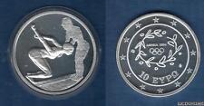 Grèce 2003 10 Euro Natation Jeux Olympiques été Athénes 2004 - Greece