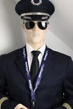 Lanyard LUFTHANSA AIRLINES keychain neckstrap LANYARD NEW LOGO! w. safety clip