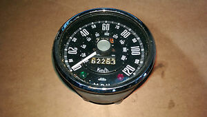 Sunbeam Alpine S1 (1959-1960) Jaeger Speedometer Speedo SN6117/02 980