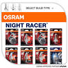 Osram Night Racer® Performance Motorbike Bulbs Motorcyle Headlight H4 H7 H8 H11