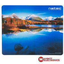 NEW ORIGINAL PICTORIAL NATEC MOUSEPAD MICE PAD MAT FOR OPTICAL MOUSE MOUNTAINS