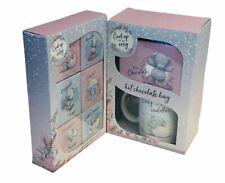 Me To You Hot Chocolate Selection / Hot Chocolate & Mug Curl Up Tatty Teddy Gift