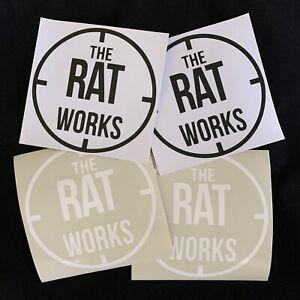 The RAT Works vinyl sticker
