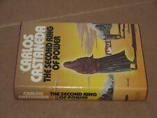 Carlos Castaneda. Second Ring of Power. 1st ed./DJ. 1977. Yaqui Indian mysticism