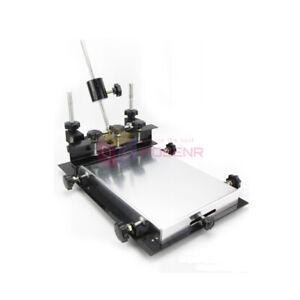 Manual Solder Paste Printer,PCB SMT Stencil Printer S Size 300x240mm