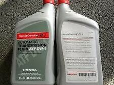 4 QUARTS Genuine Honda 08200-9008 Automatic Transmission Fluid ATF DW-1