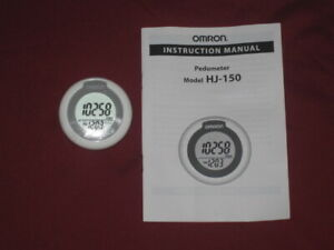 OMRON HJ-150 ELECTRONIC PEDOMETER NEW