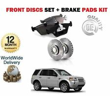 LAND ROVER FREELANDER 2 2.2td td4 2006 - > Dischi Freno Anteriore Set + KIT DISCO PASTIGLIE