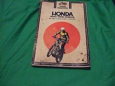 honda clymer motor cycle service repair handbook 100-350cc-1970-1976 4-stroke