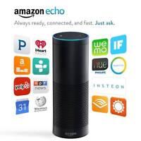 Amazon Echo Hands-Free Smart Home Speaker with Alexa – Black