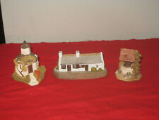 Lilliput Lane - The Dovecot, Burns Cottage, The Wishing Well