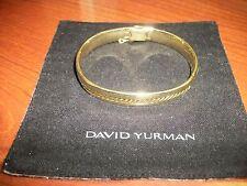 Yellow Gold Bracelet 74.1 grams Mens David Yurman Solid 18k
