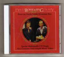 DAVID BOWIE & BING CROSBY - PEACE ON EARTH - CDs + VIDEO USA - SEALED MINT !!!