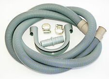 WASHING MACHINE DISHWASHER WAIST DRAIN PIPE EXTENSION 2.5m + FREE GIFT FREE POST