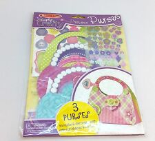 NEW Melissa & Doug Simply Crafty - Precious Purses - Kids Craft Projects