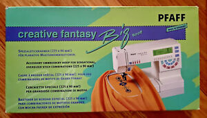NEW in Box PFAFF CREATIVE FANTASY BIG HOOP for oversized embroidery (225x90 MM)