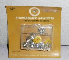 1960's Strombecker Nos 1/32 Plastic Inserts 20 Assorted #8339 *Unused Moc