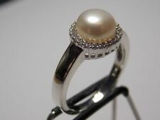 Unbranded Pearl Not Enhanced Fine Rings