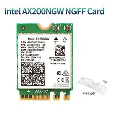 Intel Wi-Fi 6 AX200 160MHz Network Card 802.11ax Wifi 2.4G Bluetooth 5.0 MU-MIMO