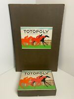 Rare Vintage Wartime - TOTOPOLY - Waddingtons COMPLETE - NEAR MINT