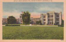 Postcard Arthur Jorden Memorial Hall Butler University Indianapolis IN