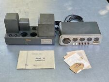 quad ii amplifier and preamplifier