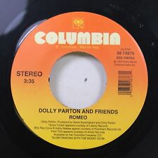 90'S 45 Dolly Parton And Friends - Romeo / High And Mighty On Columbia