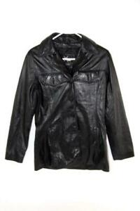 Vintage Maxima Wilsons The Leather Expert Jacket Men's Size Small Black
