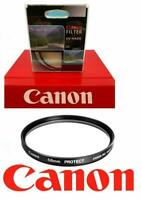 58mm CANON UV PROTECTIVE FILTER FOR CANON EOS REBEL CAMERAS AND LENSES