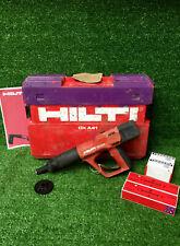 HILTI DX A41 F8 Nail Gun  Cartridge Hammer C/W 200 Nails & Cartridges  REF 8170A