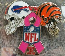 BUFFALO BILLS vs CINCINNATI BENGALS GAMEDAY PIN 10/13/13 NFL GAME DAY LAPEL PIN