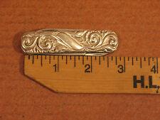 Antique Victorinox  Sterling 925S Mylius Norway Hallmark Ornate Pocket Knife