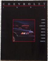 SALES BROCHURE ~ 1991 CHEVROLET ~ 20 PAGES ~ ORIGINAL ~