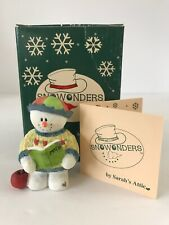"Limited Edition ""Newton� Snowonders By Sarah's Attic #48/0682 Coa Original Box"