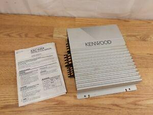 Kenwood KAC-646X kac646X four channel 4 amp amplifier  Has Cosmetic Wear   Works