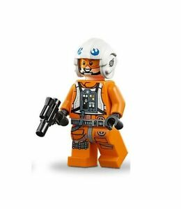 LEGO Star Wars Dak Ralter Authentic Rebel Pilot Minifigure 75259