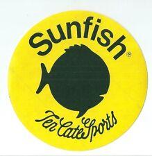 Autocollant sticker Sunfish Ten Cate Sports poisson