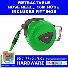 Greenleaf Retractable Hose Reel 10m With Hose & Fittings